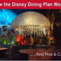 How the Disney Dining Plan Works
