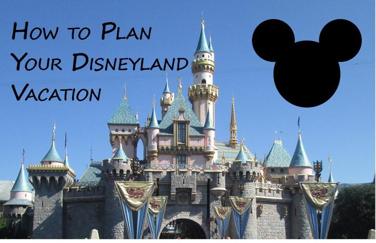 Disneyland Planning Graphic