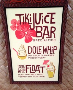 Dole whip sign