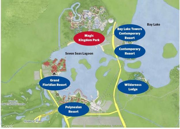 MK area resorts