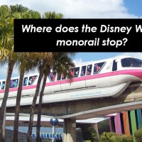 Disney World Monorail stops & how to find your way on the Monorail