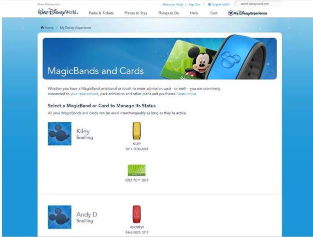 Mydisneyexperience magic bands