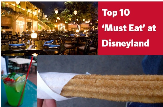 Top 10 eats in Disneyland