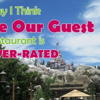"Disney World's ""Be Our Guest"" Restaurant Review & Why I Think it is Overrated"