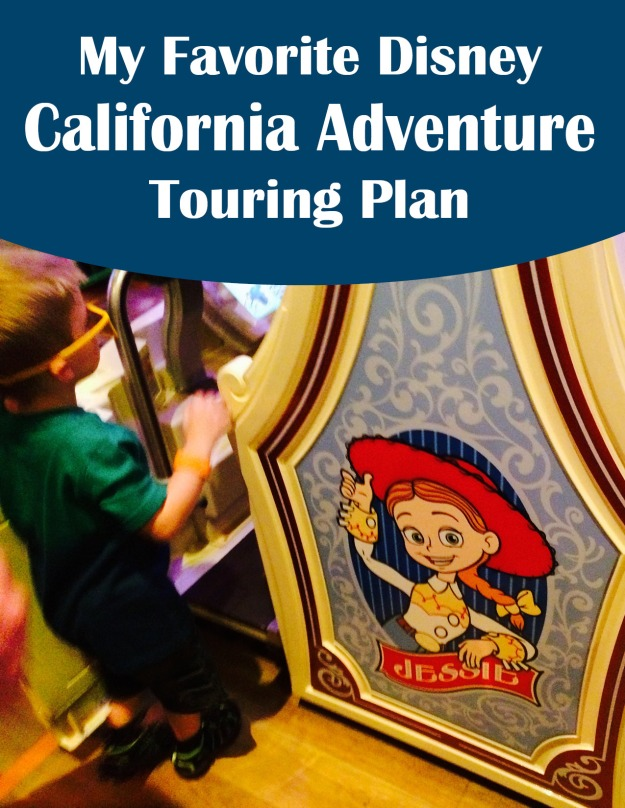 DCA Touring Plan Pinterest