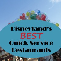 "Disneyland's Best ""Quick Service"" Restaurants at a Glance"