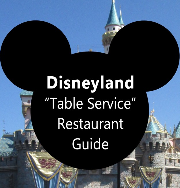 Disneyland Table Service2