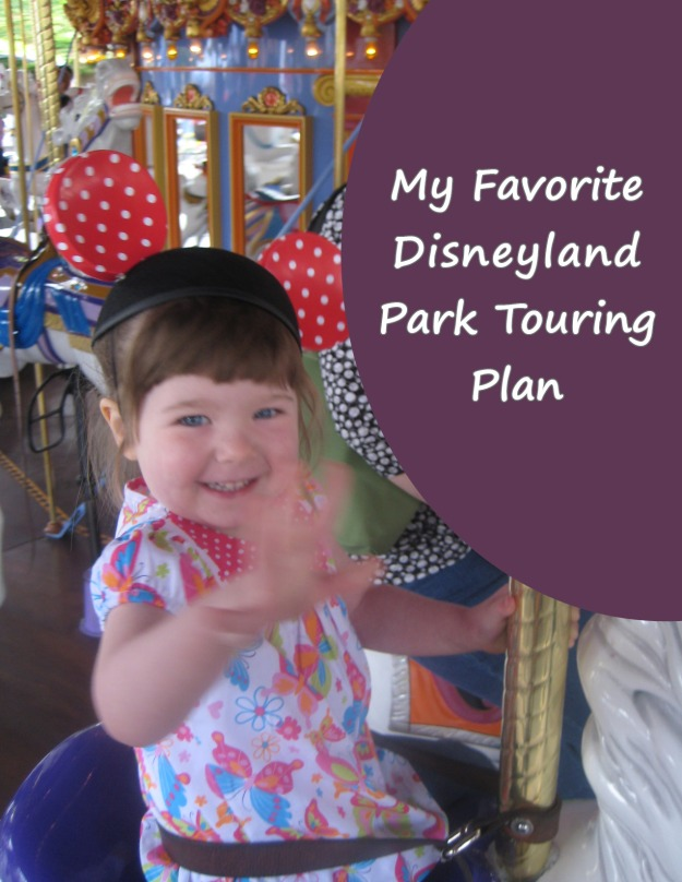 Disneyland touring plan pinterest