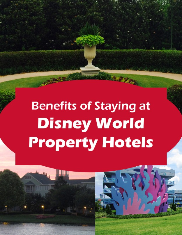 Benefits of Staying on Disney Property in Walt Disney World