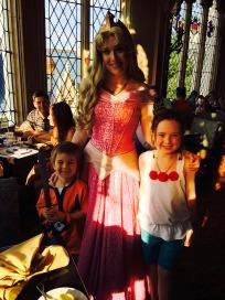 Aurora at Royal table