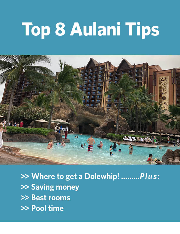 Aulani tips